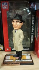 Green Bay Packers Vince Lombardi Ticket Base Bobblehead