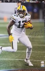 Green Bay Packers Davante Adams Autographed 16X20 Licensed PHOTO #3