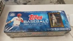 2009 TOPPS Baseball Complete Factory Sealed Set 660 Cards plus Mantle Gold