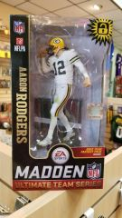 Green Bay Packers Aaron Rodgers Mcfarlane Madden 19 Figure Color Rush