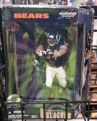 Chicago Bears Brian Urlacher Mcfarlane Figure Special Edition