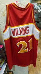 Dominique Wilkins Atlanta Hawks Autographed Jersey JSA