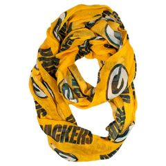 Green Bay Packers Ladies Infinity Scarf NFL