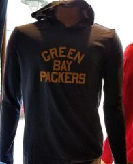 Green Bay Packers Acme Pullover Lightweight Hooded Shirt/Top