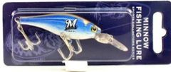 Milwaukee Brewers Minnow Fishing Lure