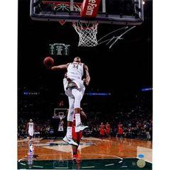 Milwaukee Bucks Giannis Antetokounmpo 16X20 Autographed Photo