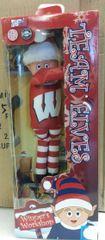 Wisconsin Badgers Plush Elf Elf On A Shelf Mascot