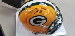 Green Bay Packers Davante Adams Autographed Speed Mini Helmet #2