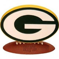 Green Bay Packers 3D Logo Collectible Figure