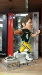 Green Bay Packers Brett Favre Bobblehead Platinum Base