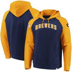 Milwaukee Brewers With Attitude Pullover Hoodie Hooded Sweatshirt