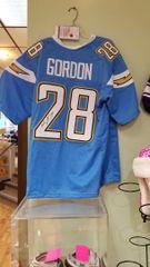 Melvin Gordon Chargers Autographed Jersey JSA
