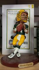 Green Bay Packers Brett Favre Memory Company Figure Statue