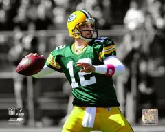 Green Bay Packers Aaron Rodgers 16X20 Canvas print