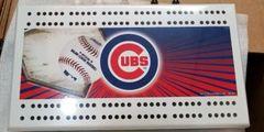 Chicago Cubs MLB Licensed Cribbage Board
