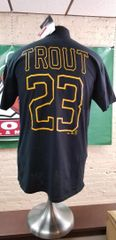 Mike Trout Salt Lake Bees Majestic Remember When T-shirt