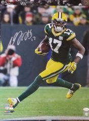 Green Bay Packers Davante Adams Autographed 16X20 Licensed PHOTO #2