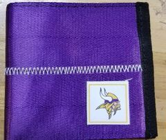 Minnesota Vikings Belted Bi Fold Wallet