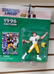 Green Bay Packers Brett Favre Starting Lineup Figure 1996