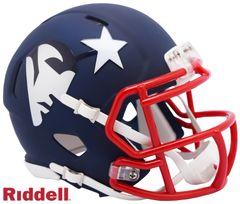 New England Patriots NFL Riddell AMP Alternate Mini Speed Helmet