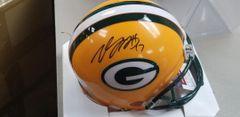 Green Bay Packers Davante Adams Autographed Regular Mini Helmet #1
