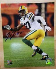 Green Bay Packers Josh Jones Autographed 8x10 Photo