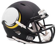 Minnesota Vikings NFL Riddell AMP Alternate Mini Speed Helmet