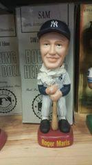 SAM SAM's New York Yankees Roger Maris Pinstripe Jersey Bobblehead
