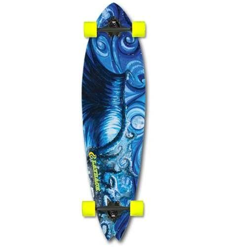 Layback Deep Blue Complete Longboard LDBC001