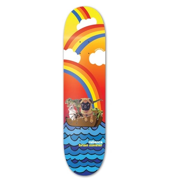 Reliance Brian Sumner Noah Color Fade Skateboard Deck RBSN001