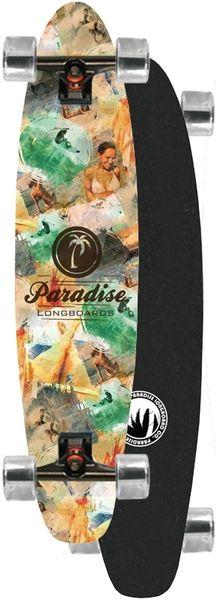 Paradise Good Times Roll Kicktail Complete Longboard PGTR001