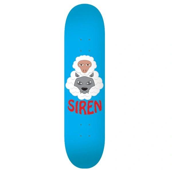 Siren Symbols Wolf Skateboard Deck SSWS001