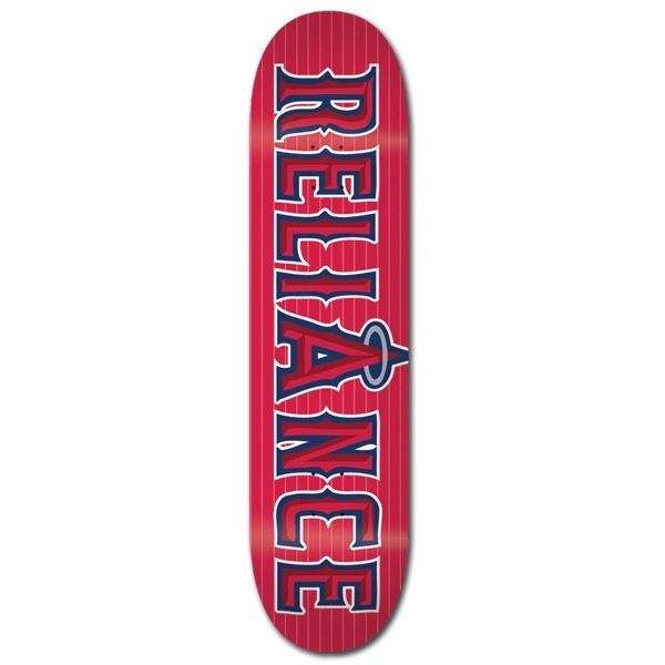 Reliance Team Slugger Anahiem Skateboard Deck RTSA001