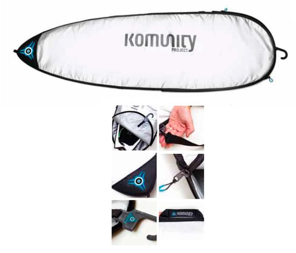 Komunity Project Single-Day-Use Shortboard Bag KPSS001