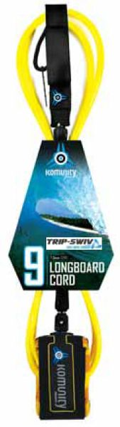 Komunity Project Trip-Swiv Longboard 9 Surfboard Leash KPTL001