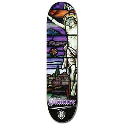 Reliance Sumner Stained Glass Friday Skateboard Deck RSSG001