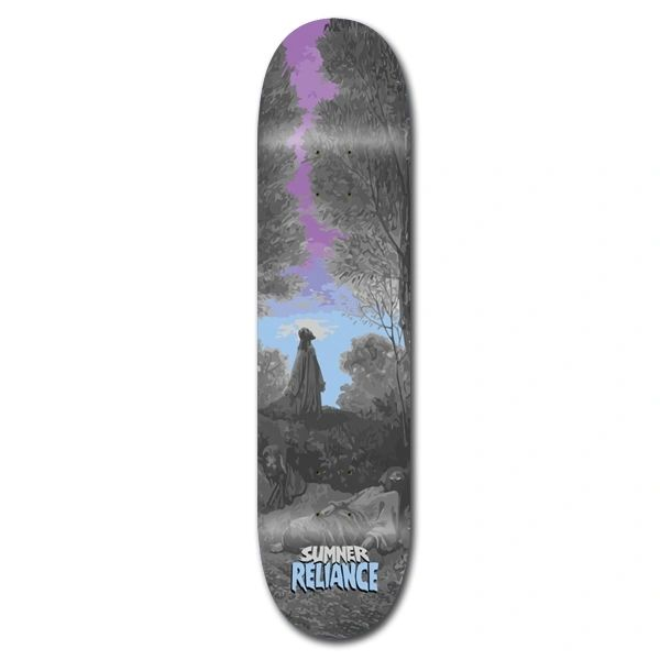 Reliance Sumner Garden Skateboard Deck RSGD001