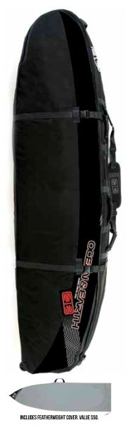 Ocean&Earth GTS Triple Wheel Coffin Shortboard Bag OETW001