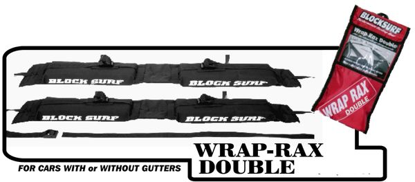 Blocksurf Wrap-Rax Double Surfboard Car Rack BWRD001