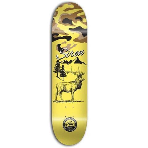 Siren PP Wildlife 2 Elk Skateboard Deck SPWE001