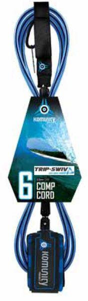 Komunity Project Trip-Swiv Comp 6 Surfboard Leash KPTC001