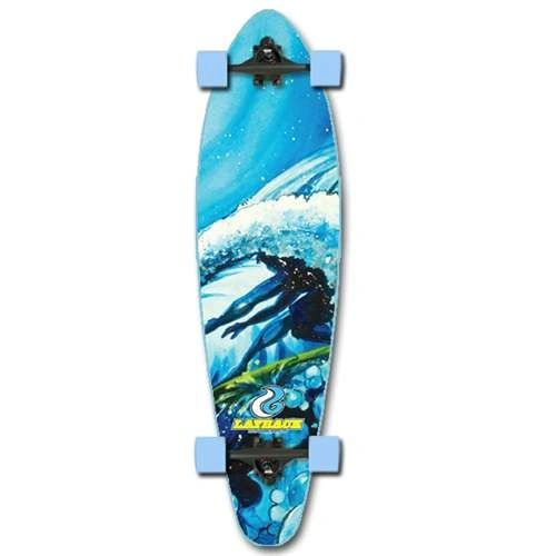 Layback Light Speed Complete Longboard LLSC001