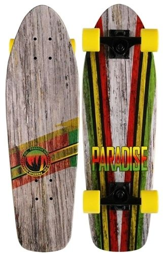 Paradise Driftwood Cruiser Complete Skateboard PDCC001