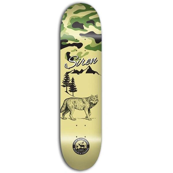 Siren PP Wildlife 2 Wolf Skateboard Deck SPWW001