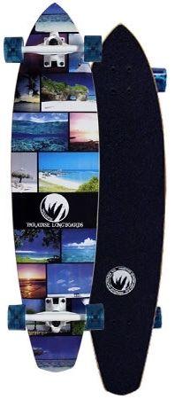 Paradise Island Life Kicktail Complete Longboard PILK001