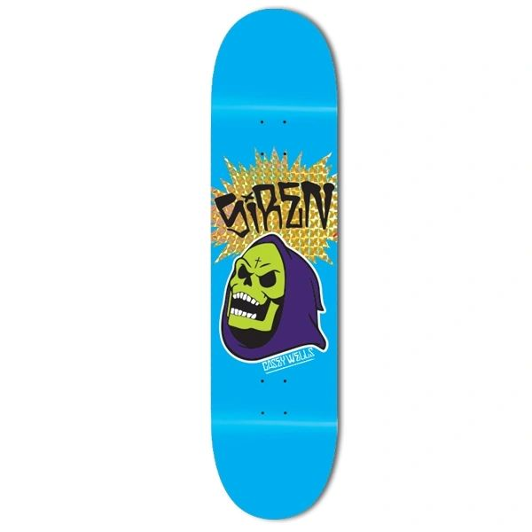 Siren Casey Wells Skeltor Skateboard Deck SCWS001