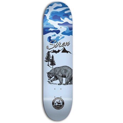 Siren PP Wildlife 2 Bear Skateboard Deck SPWB001