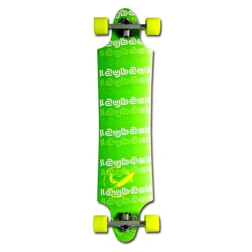 Layback Green Meanie Drop Complete Longboard LGMD001