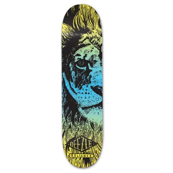 Reliance Deezle Lion Color Fade Skateboard Deck RDLS001