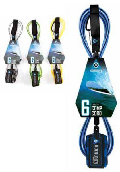Komunity Project Comp Cord 6 Surfboard Leash KPCC001